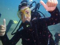 Bautismo de buceo con 1 inmersión en Lanzarote