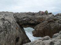 route through the cliffs
