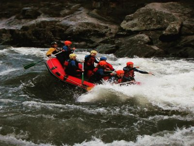 Rafting descent on the Ulla river, 4 hours