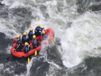 Descenso en rafting río Tambre 4 horas