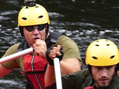 Practicar rafting en el río Deza Nivel Avanzado