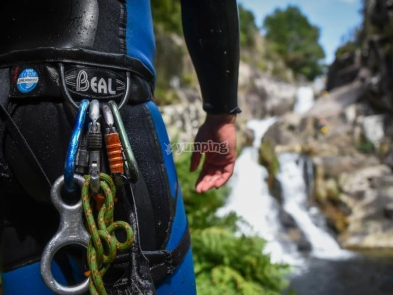 Carabiners for canyoning