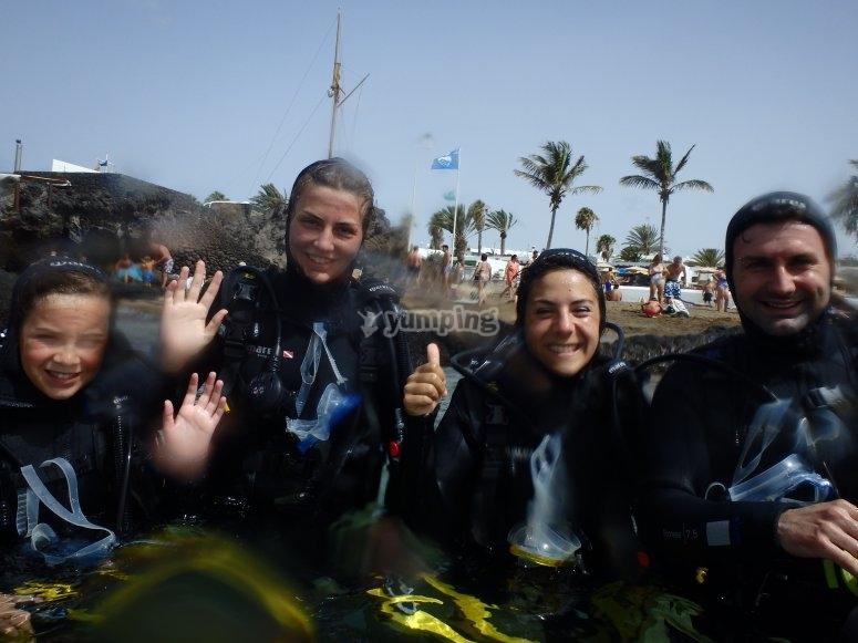 潜水员家庭