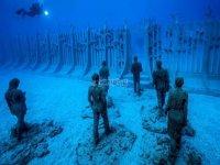 Zonas sumergidas en excursiones de buceo en Lanzarote