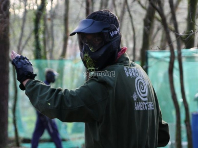 paintball suit