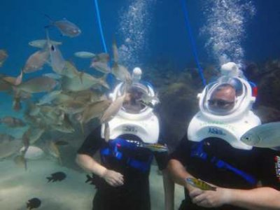 Sea Trek Buceo con escafandra y Snorkel Full Face