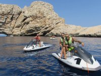 Disfrutando de una ruta en moto de agua por Es Vedra   copia
