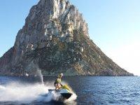 Ruta por Ses Margalides en moto de agua
