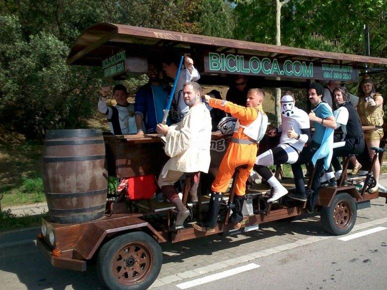 星球大战喝啤酒在bike.jpg上