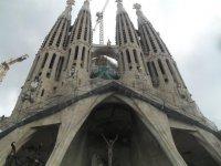 Visitando la Sagrada Familia