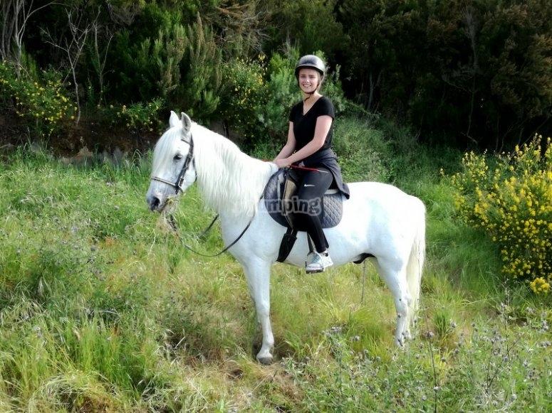 A caballo en Tenerife
