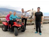 Ruta a caballo y quad La Orotava para residentes