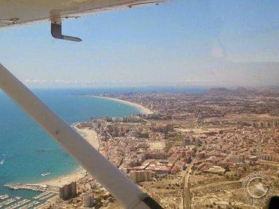 飞机和马Sant Joan夫妇的路线