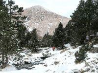 Travesía con raquetas de nieve en el Pirineo catalán