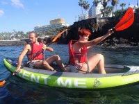 Kayak y snorkel en Puerto de la Cruz Tenerife 2h
