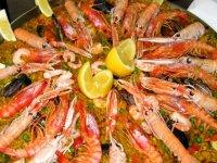 西班牙海鲜饭的美食团队建设