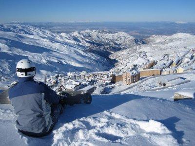 Forfait con alojamiento en Sierra Nevada