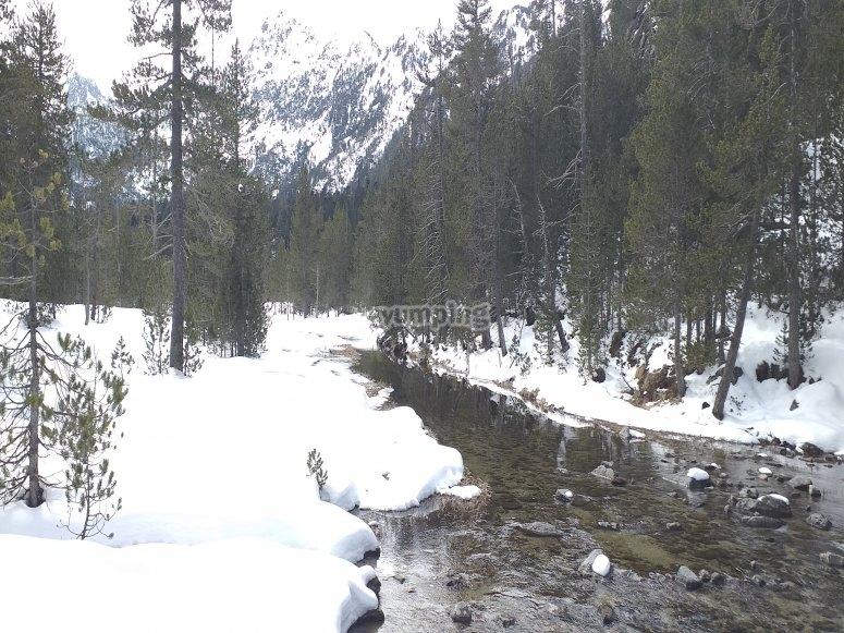 Valle de Sorteny nevado