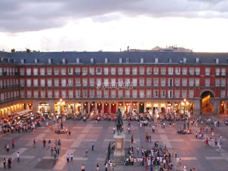 plaza mayor de madrid.