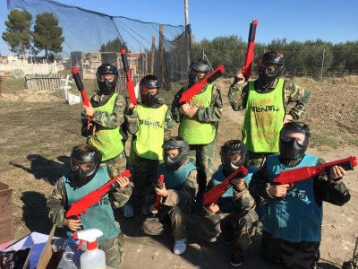 Paintball for Kids in  Alcabón Unlimited Refills