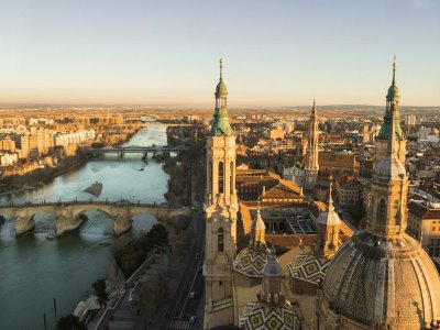 Guided tour in Zaragoza, half a day