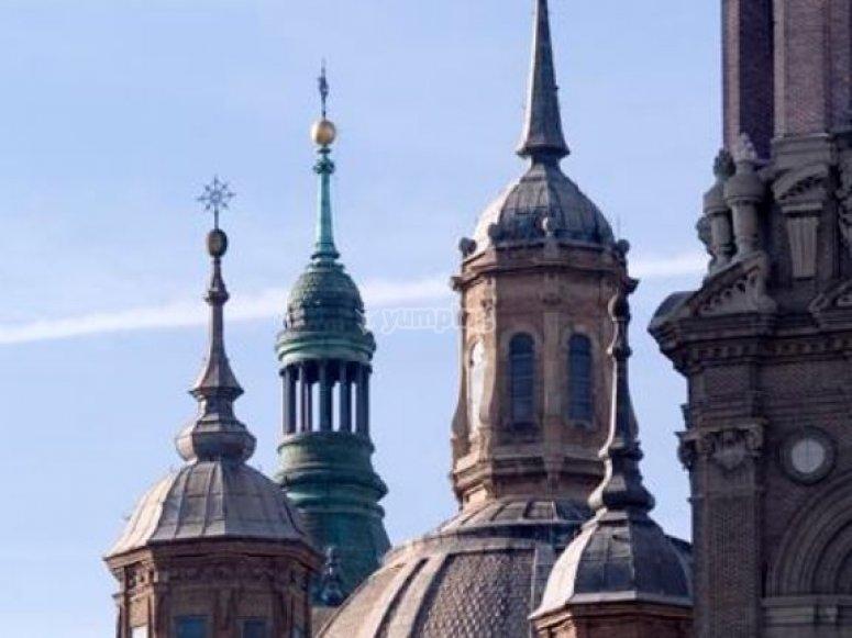 Vista de las cupulas