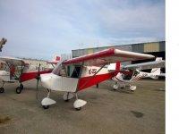 Aeronaves en el hangar de Totana