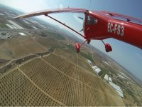Ultraligero volando sobre Totana