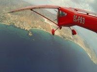 Volando sobre la costa de Guardamar