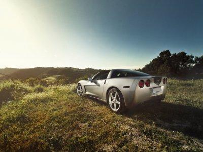 Ruta en Corvette en Madrid 7 kilómetros