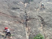 Formación de escalada para pequeños en Cataluña