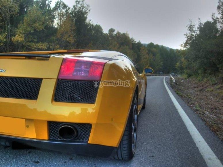 Faro del Lamborghini