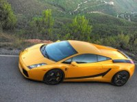 Lamborghini desde arriba