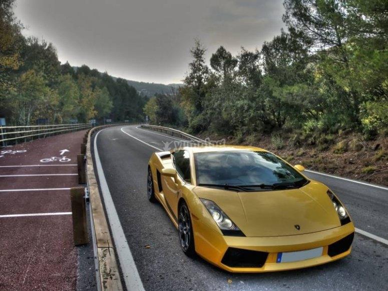 Pilotar un Lamborghini