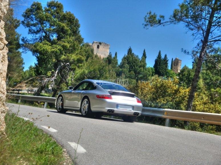 Circulando en Porsche