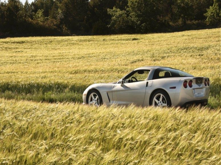Pilota el Corvette