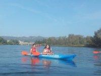 Canoa da Vinebre a Mora in 14 scuole
