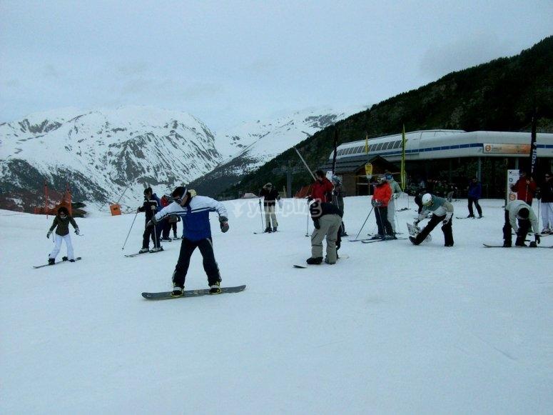 Ven a esquiar a Grandvalira