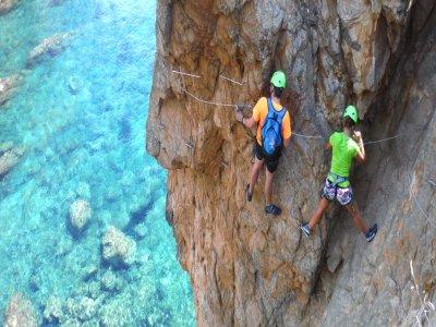 Climb in Catalunya Vía Ferrata