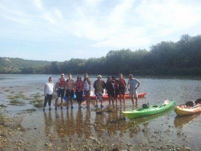 Kayak ride from Vinebre to Mora, schools, 14+