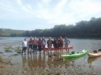 Percorso in canoa da Vinebre alle scuole più vecchie di Mora 14