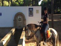 A caballo en el parque de Donana