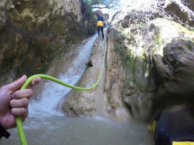 下降Arroyo Majales峡谷