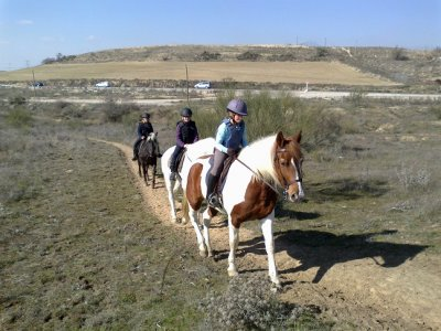 Horse riding outing, Guadarrama river, 2 hours