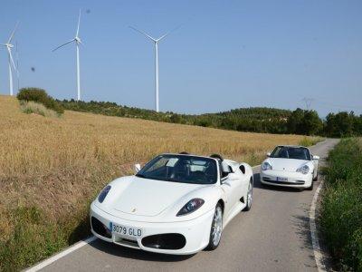 驾驶法拉利F430和保时捷911巴塞罗那14公里