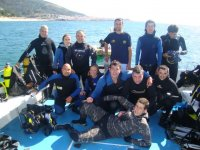departures in diving group