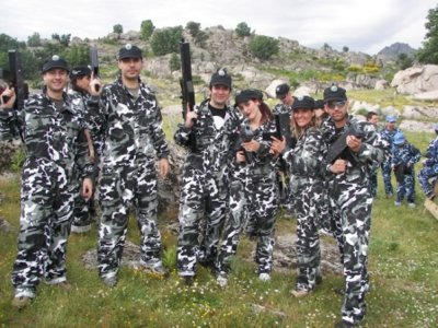 1 Hour Laser Tag Game in Collado Villalba, Adults