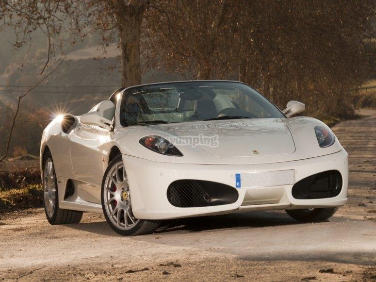 Frontal de Ferrari