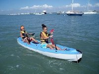 Two-seater kayaks