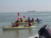 Kayaks for groups